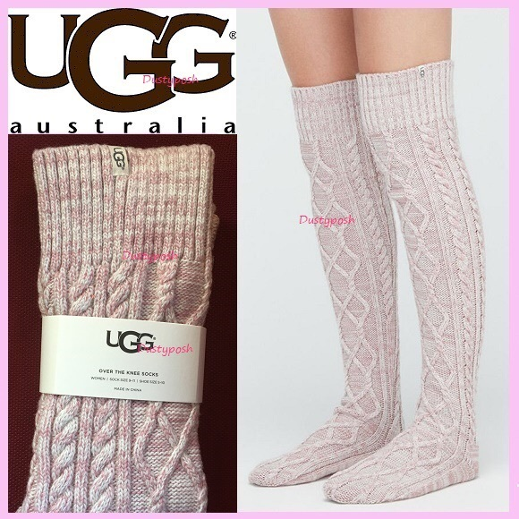 Ugg Accessories Cable Knit Over The Knee Socks Boot
